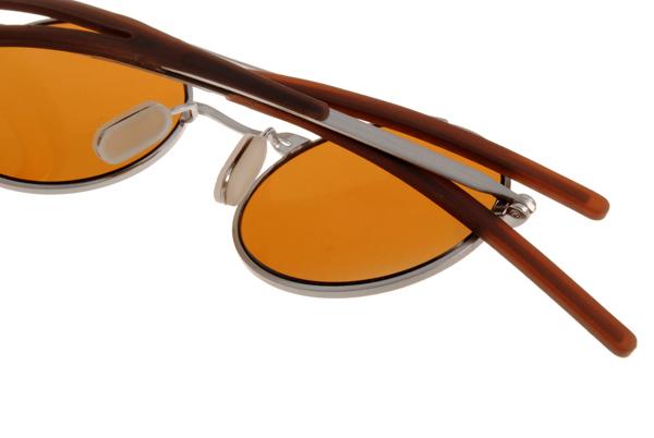光学眼镜 av1003 c01 (银棕色) 纽约灵魂日本手工复古圆框 平光镜框